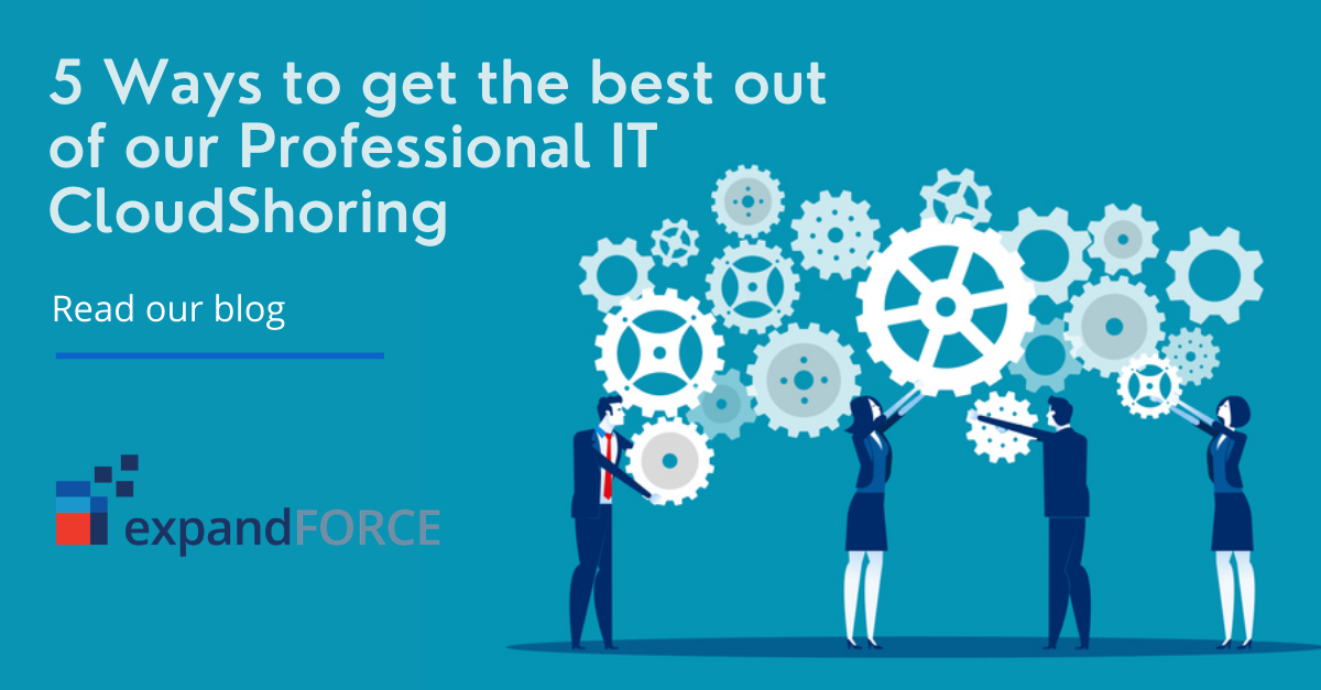 5 Ways to get the best out of our Professional IT CloudShoring