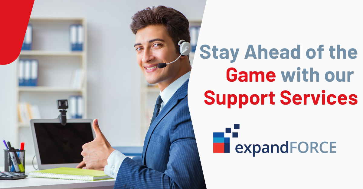 Stay Ahead of the Game with expandFORCE Help Desk Support Services