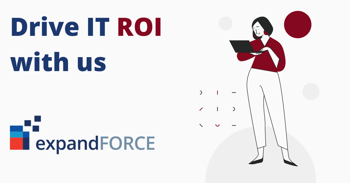 Driving IT ROI: How to pay less and get more with us