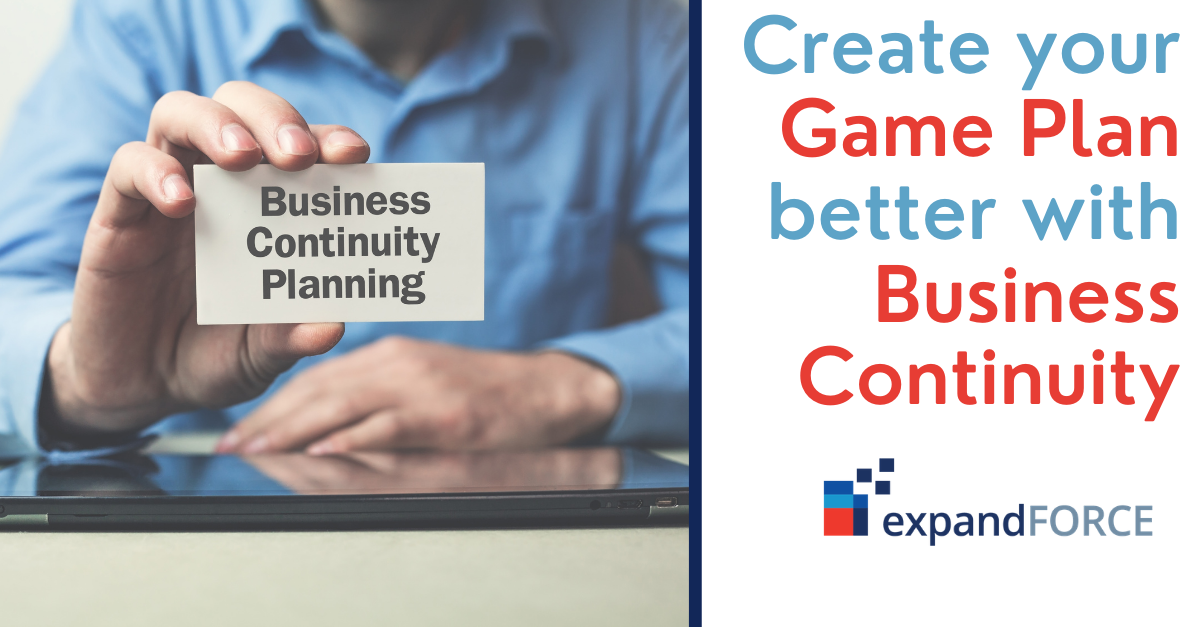 Create your game plan better with business continuity, IT services, and analytics.