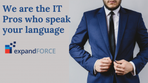 "IT Pros who speak your language: ""Business."""