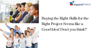 Buying in The Right Skills for The Right Projects Seems like a Good Idea! Don't you think?