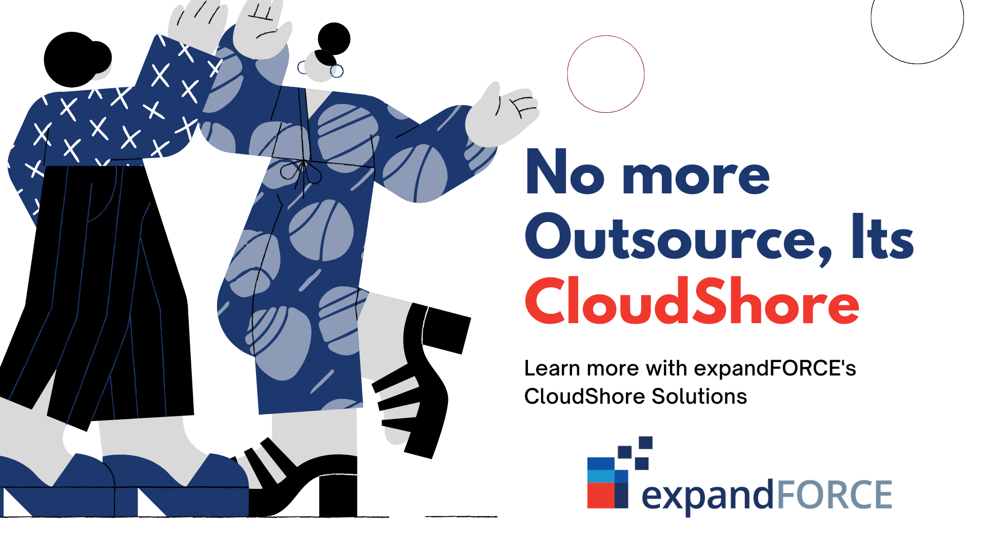 Transforming from traditional Outsourcing to expandFORCE's CloudShore