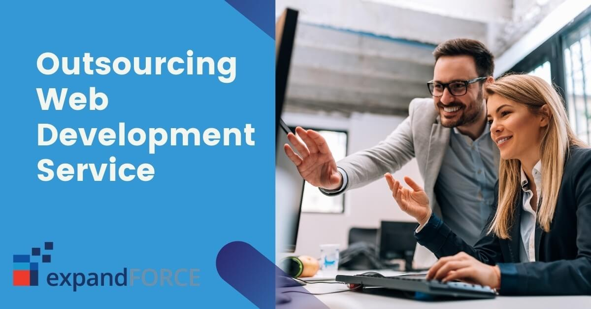 Grabbing Benefits by Efficiently Outsourcing Web Development Service