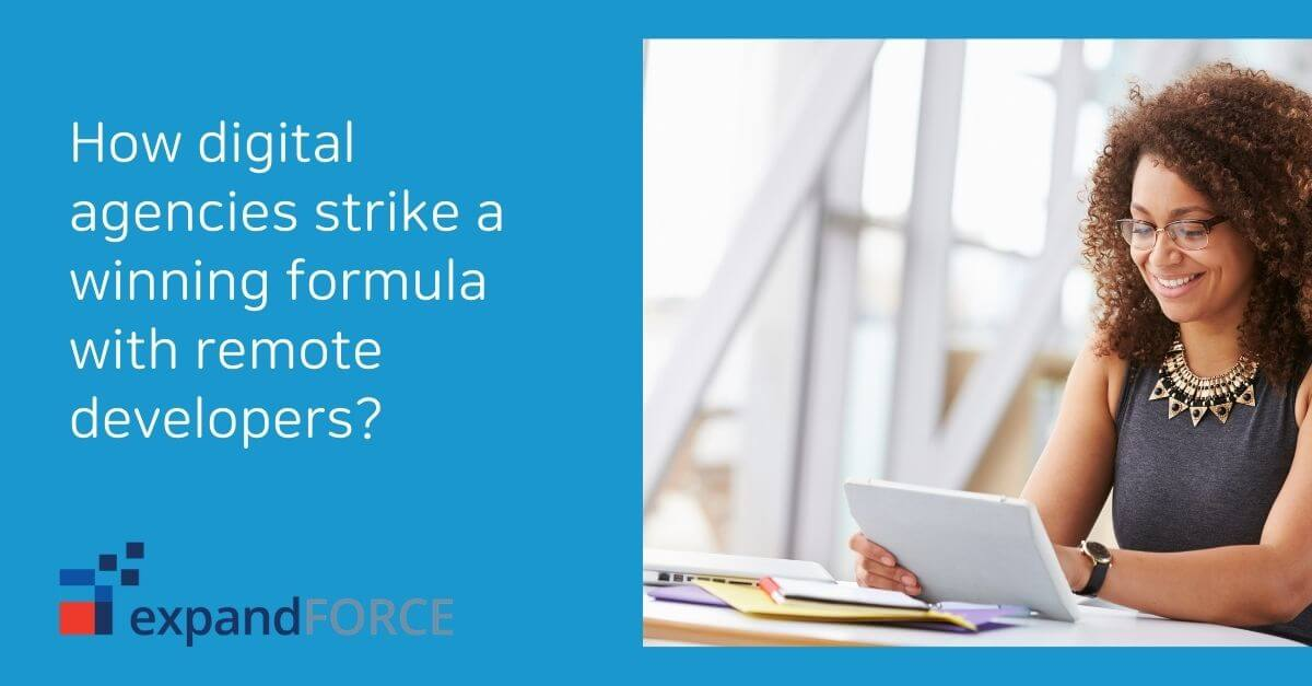 How digital agencies strike a winning formula with remote developers?
