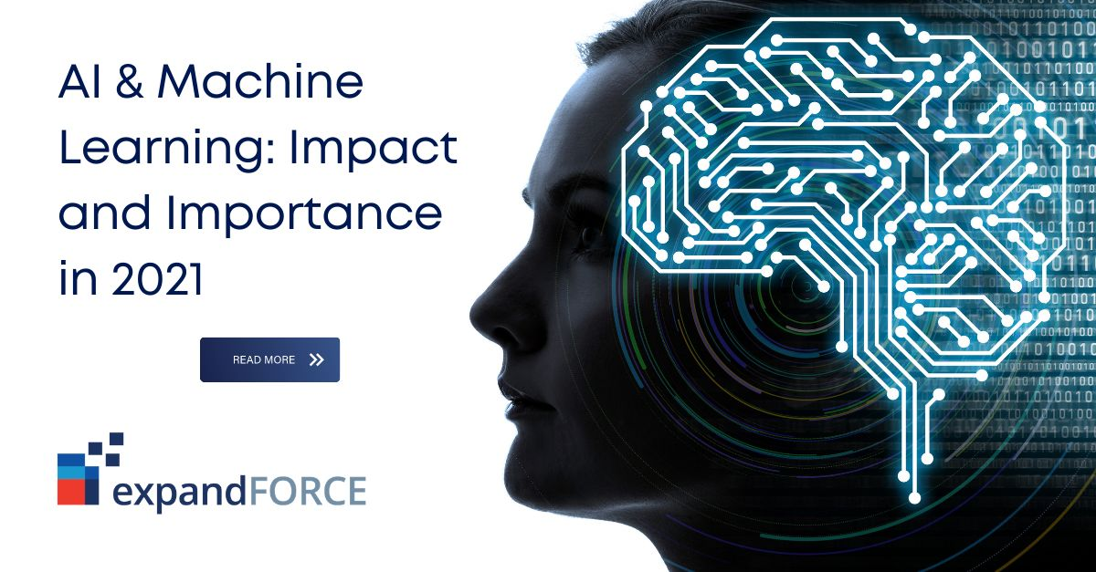 Artificial Intelligence & Machine Learning: Impact and Importance in 2021