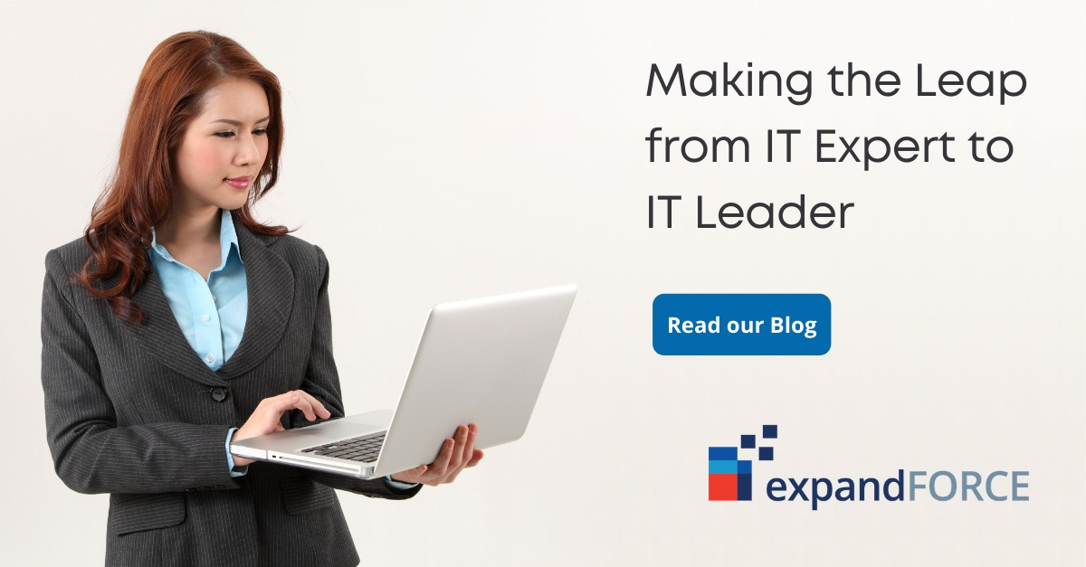Making the Leap from IT Expert to IT Leader