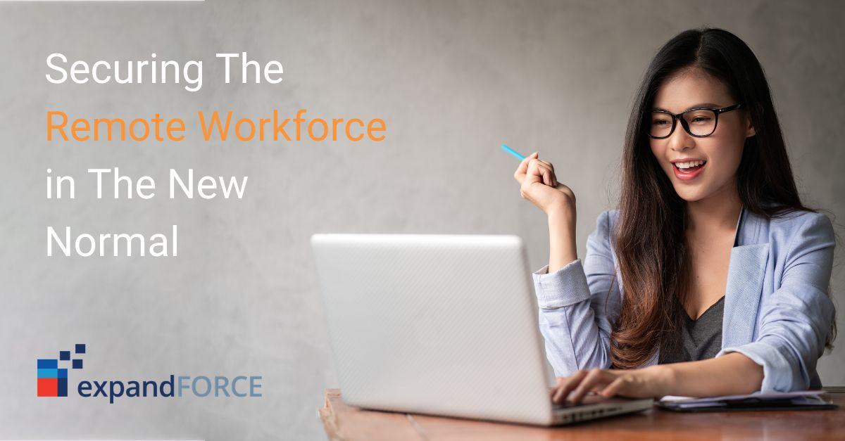 Securing The Remote Workforce in The New Normal